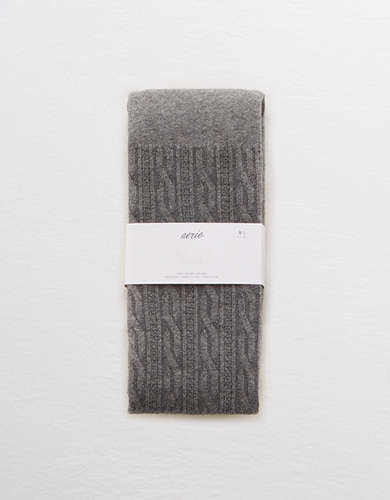 Aerie Real Soft® Cable Knit Tights -