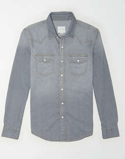 AE Denim Western Shirt