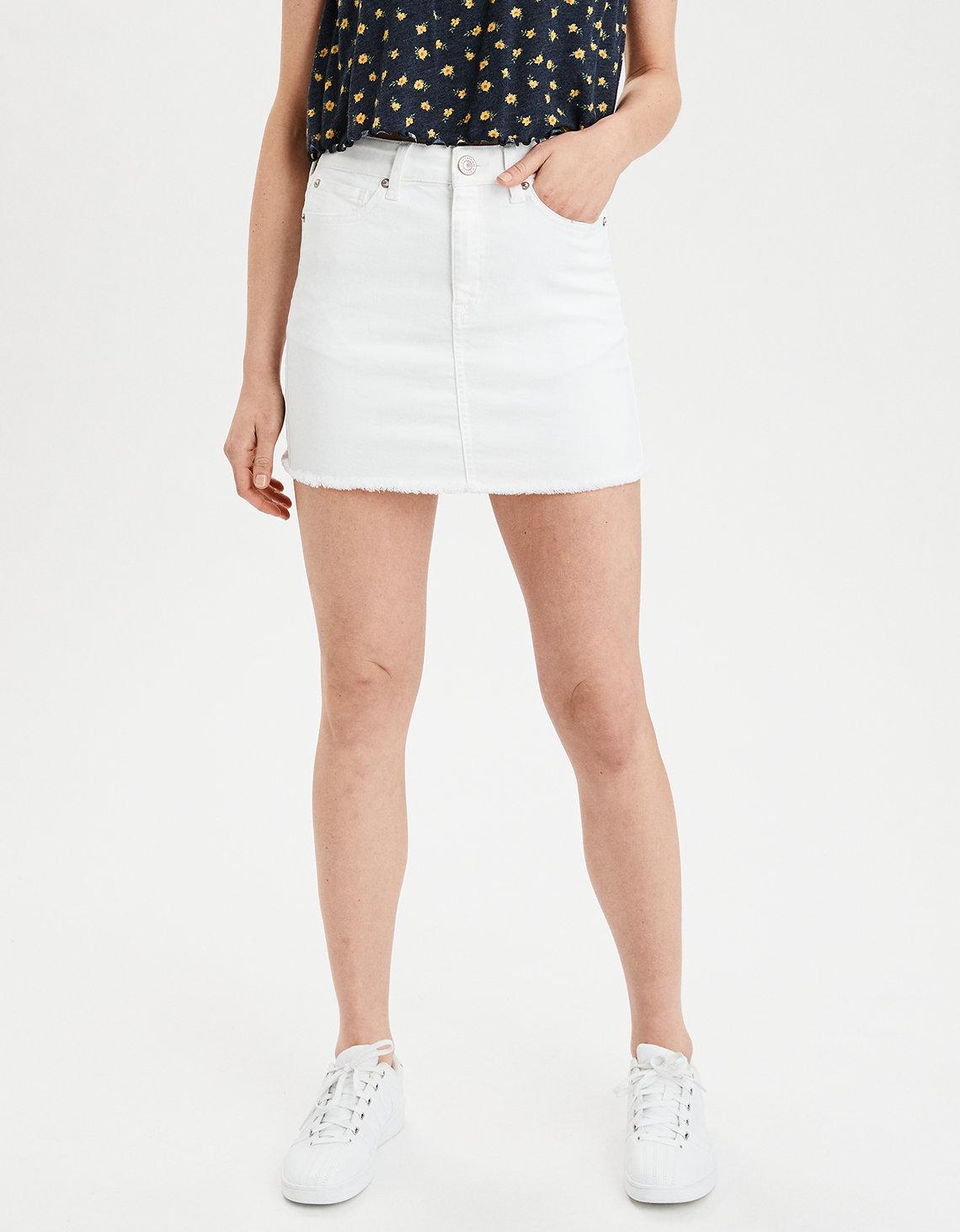 68c3d63eb27 High-Waisted Denim Mini Skirt. Placeholder image. Product Image