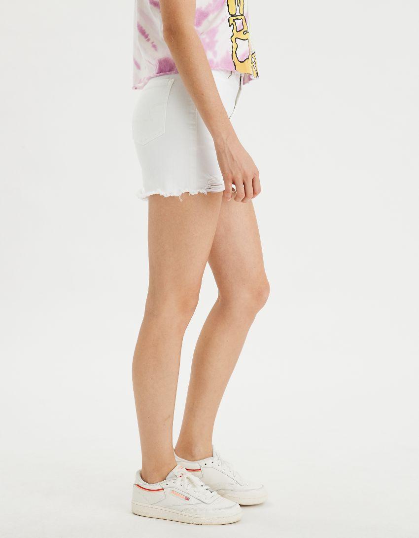 AE Ne(x)t Level High-Waisted Denim Mini Skirt