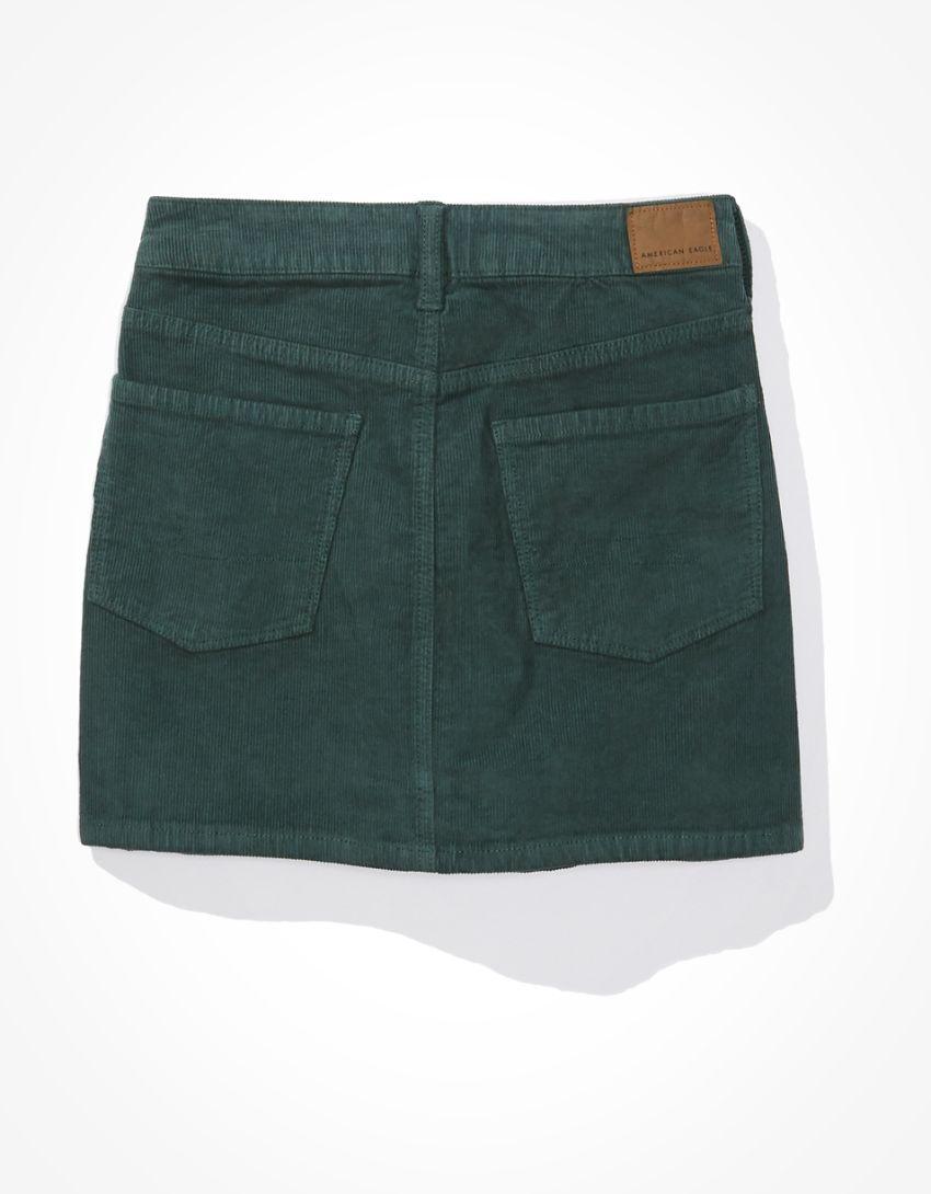 AE High-Waisted Corduroy Mini Skirt