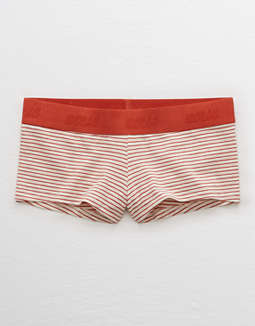 Aerie Cotton Logo Boyshort Undie