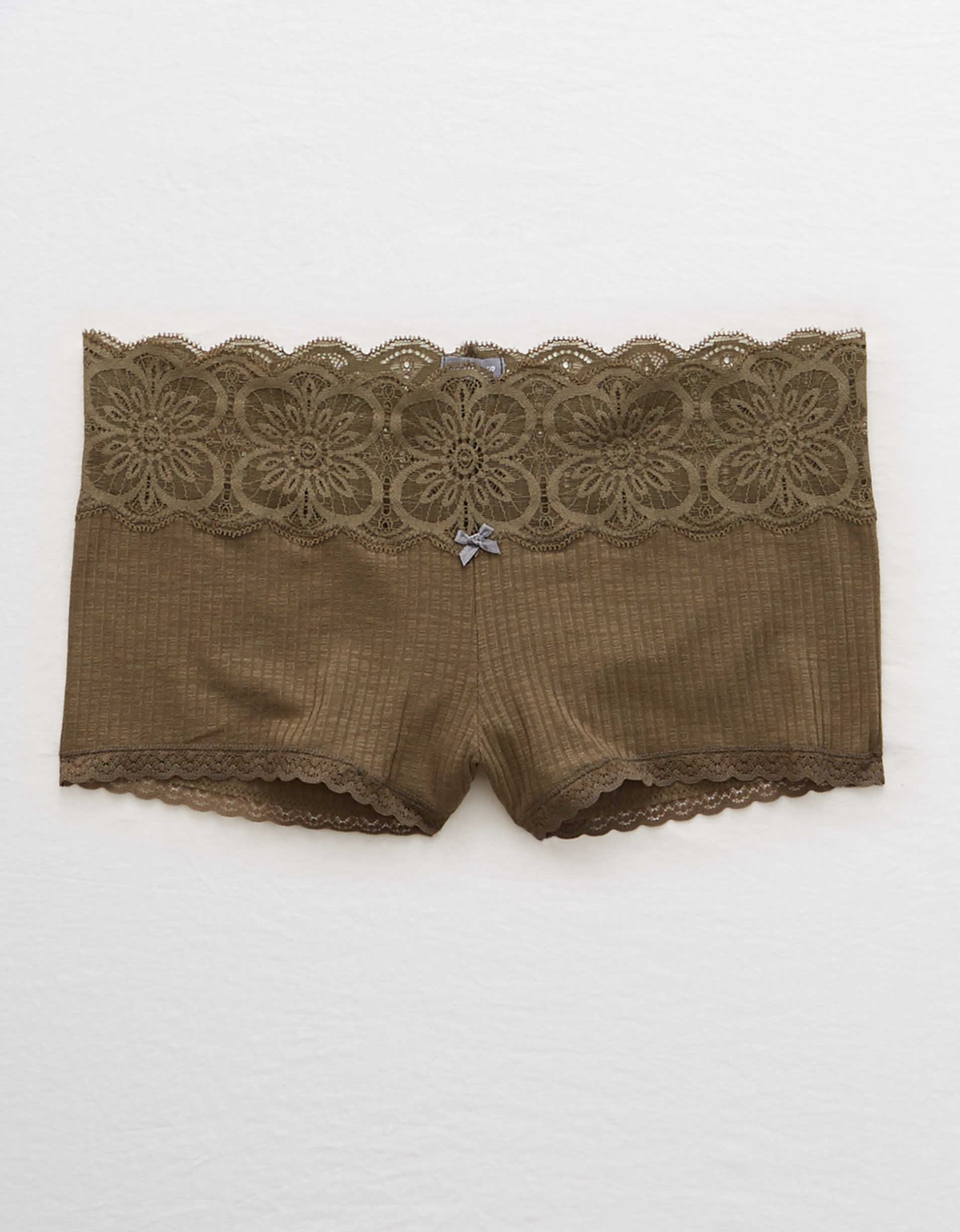 Aerie Ribbed Boyshort Undie