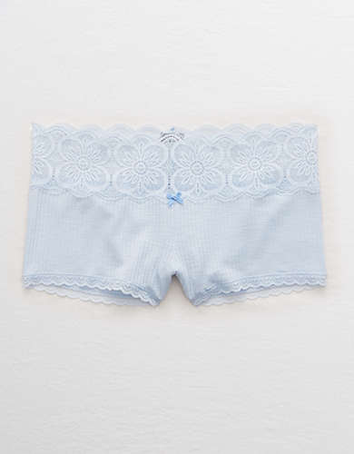 Aerie Ribbed Boyshort Underwear
