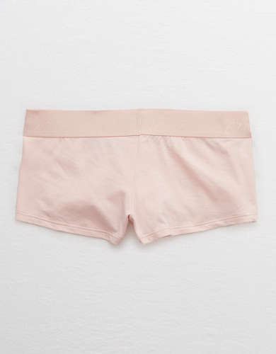Aerie Cotton Logo Boyshort Underwear