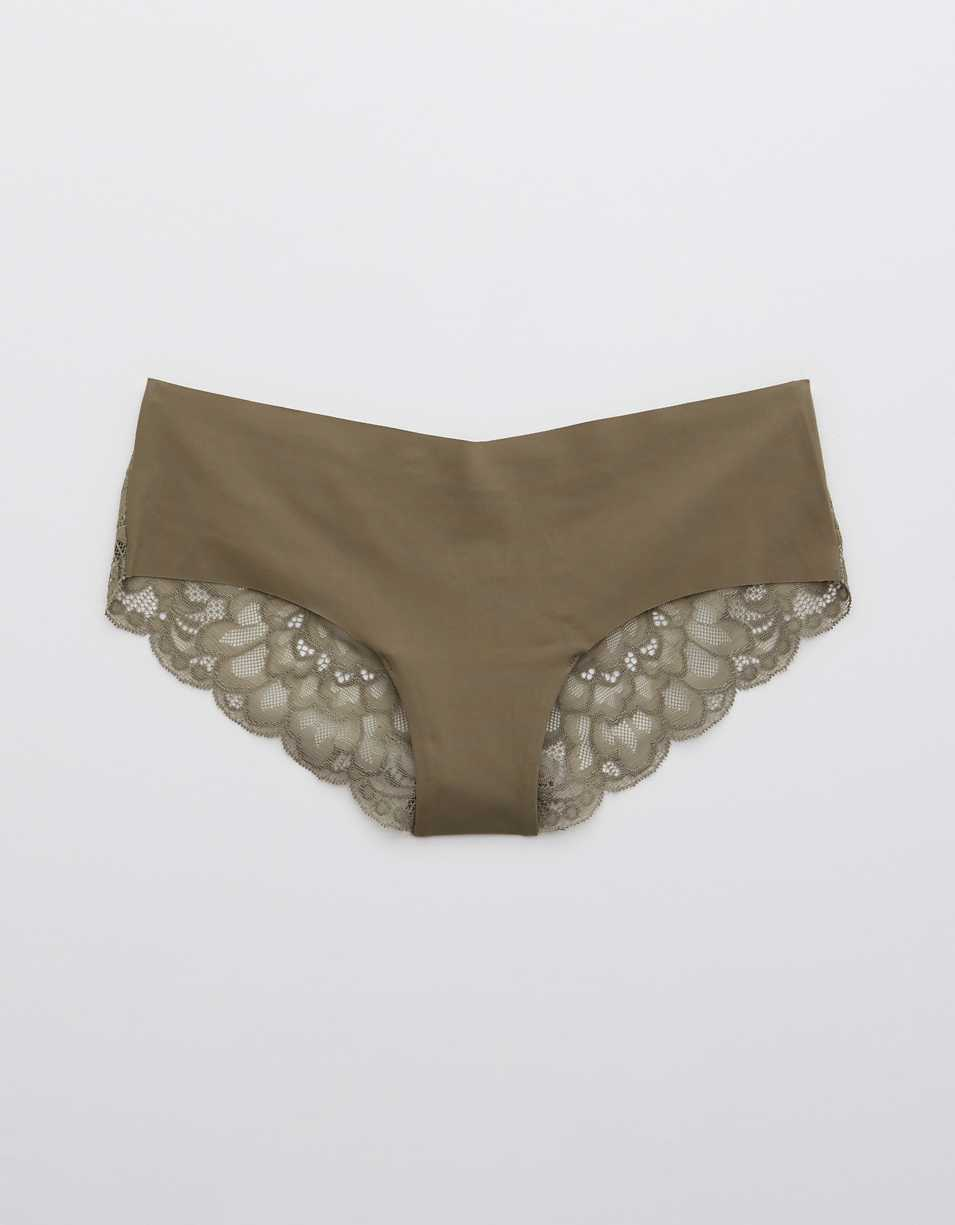 Aerie New Blooms Lace No Show Cheeky Underwear