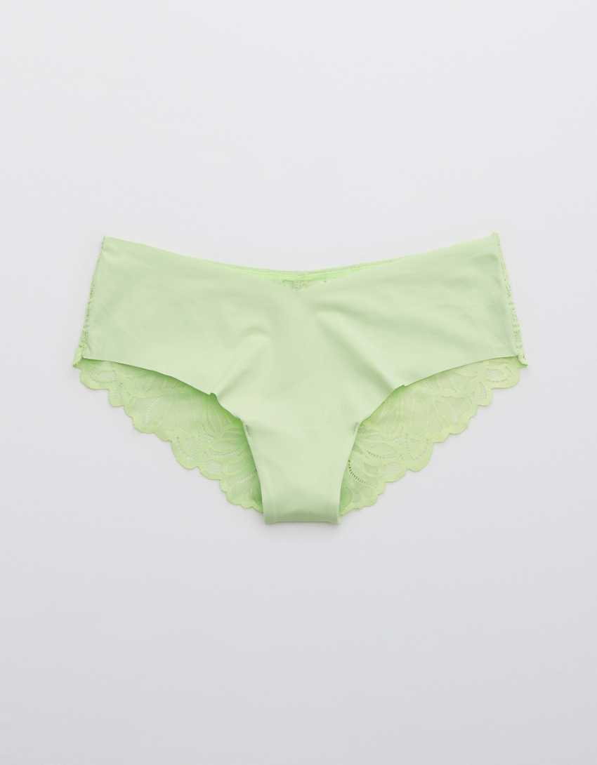 Aerie No Show Holiday Best Lace Cheeky Underwear