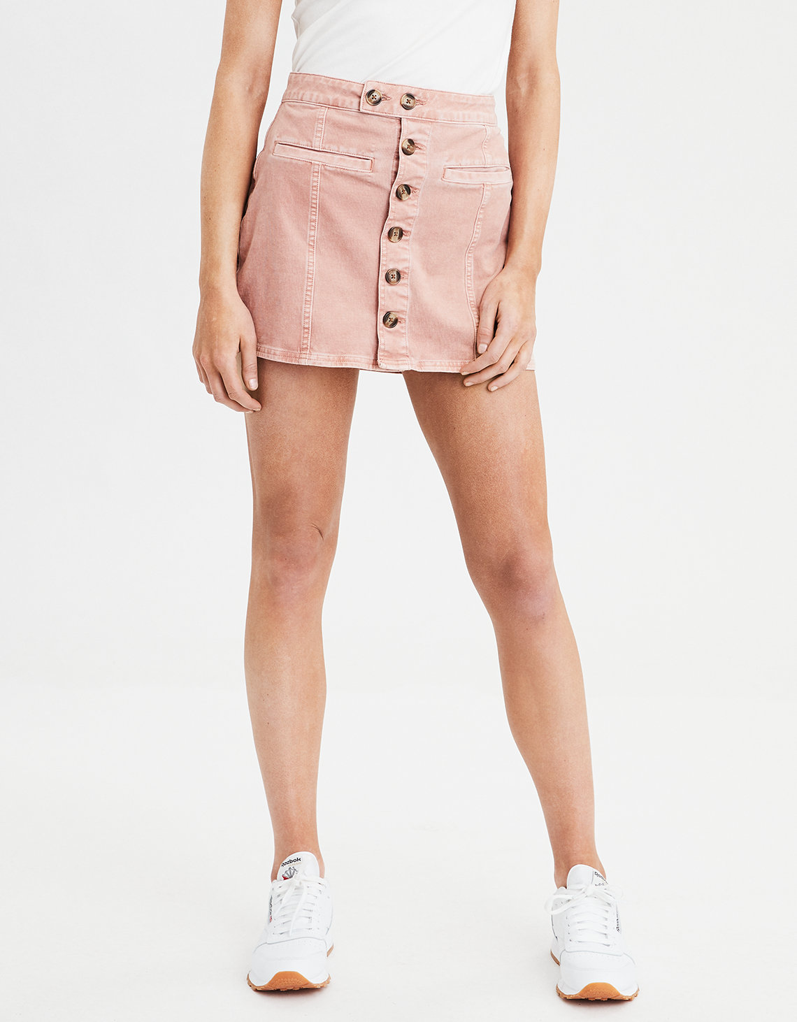 aa016baa510 AE High-Waisted A-Line Corduroy Skirt