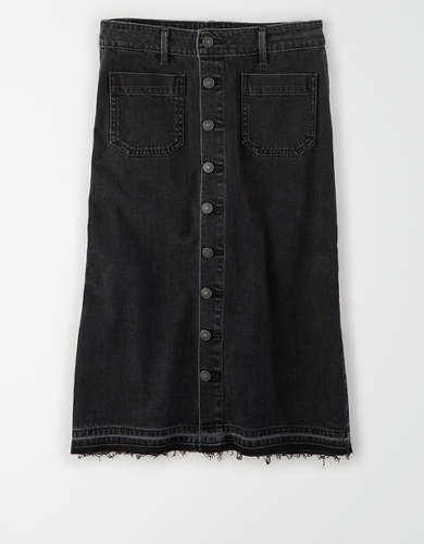AE Super High-Waisted Midi Skirt