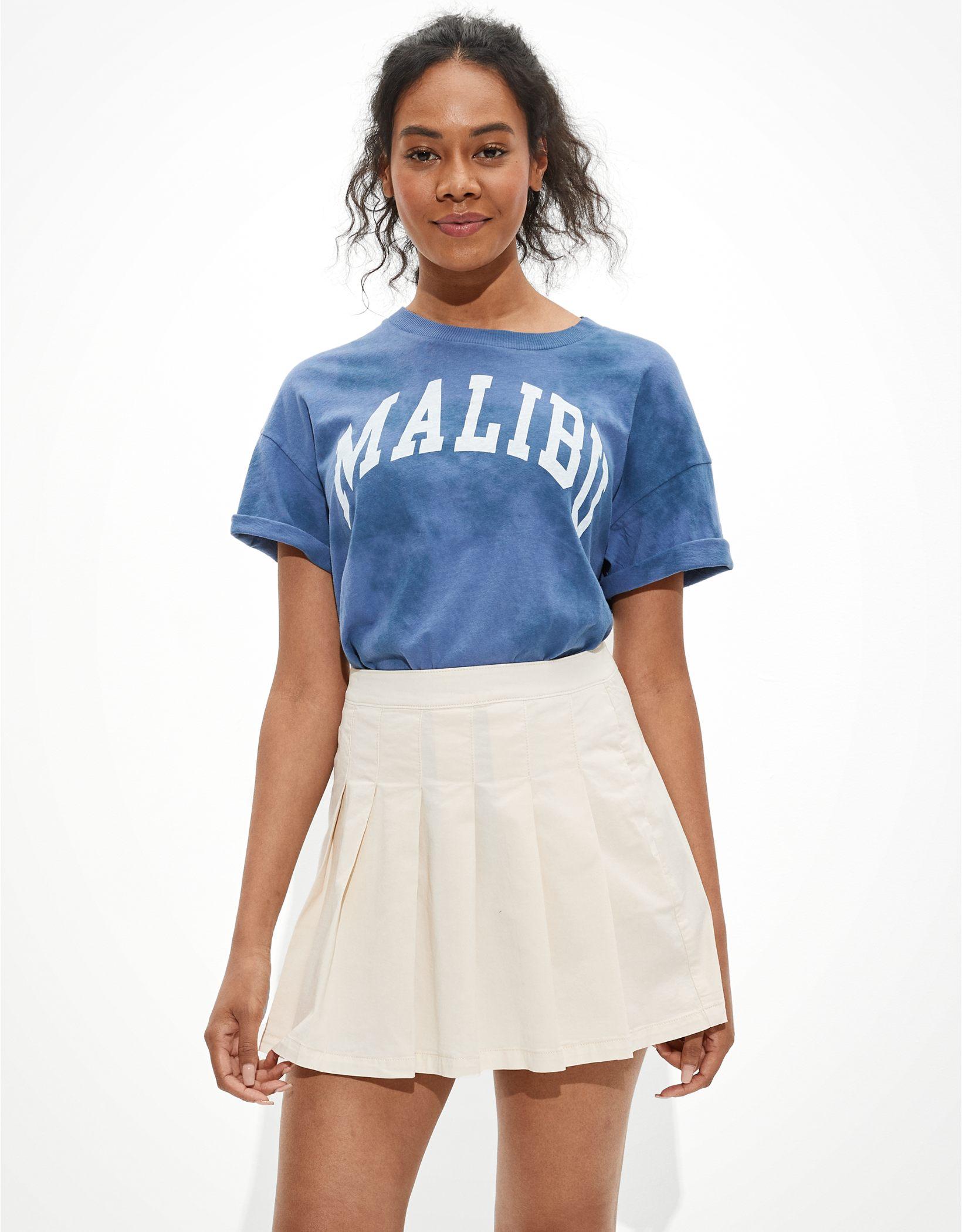 AE Super High-Waisted Pleated Tennis Skirt
