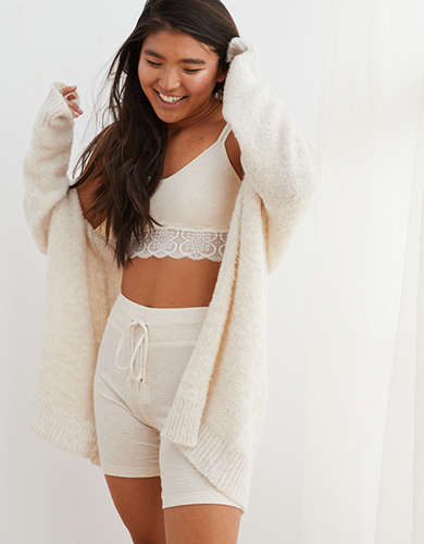 Aerie Boucle Cardigan