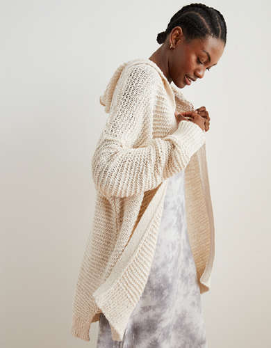 Aerie Hooded Cardigan