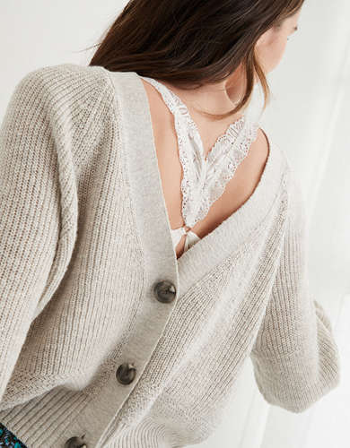 Aerie Cropped Cardigan