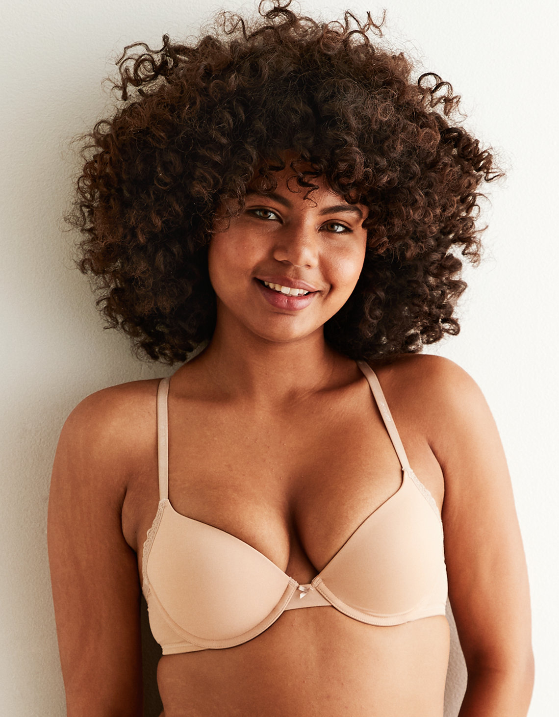 85b889f2666d8 Aerie Real Happy Demi Push Up Bra. Placeholder image. Product Image