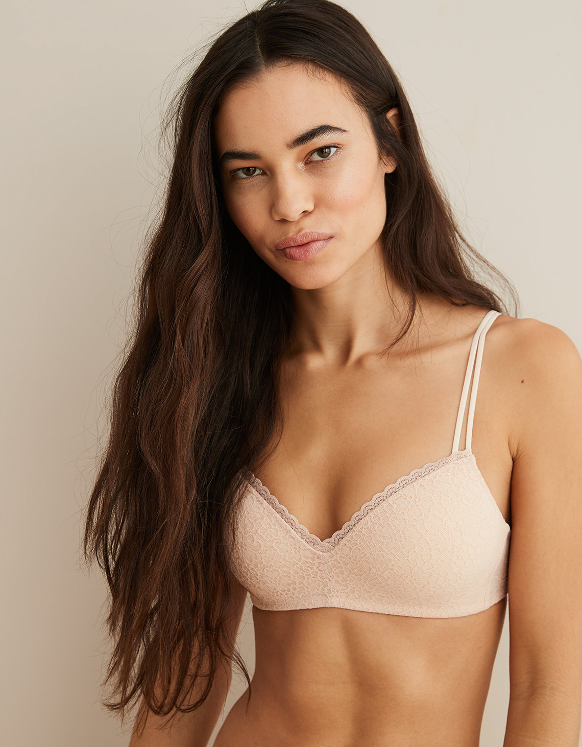 7f98c7e21c75a Aerie Real Happy Wireless Push Up Bra. Placeholder image. Product Image