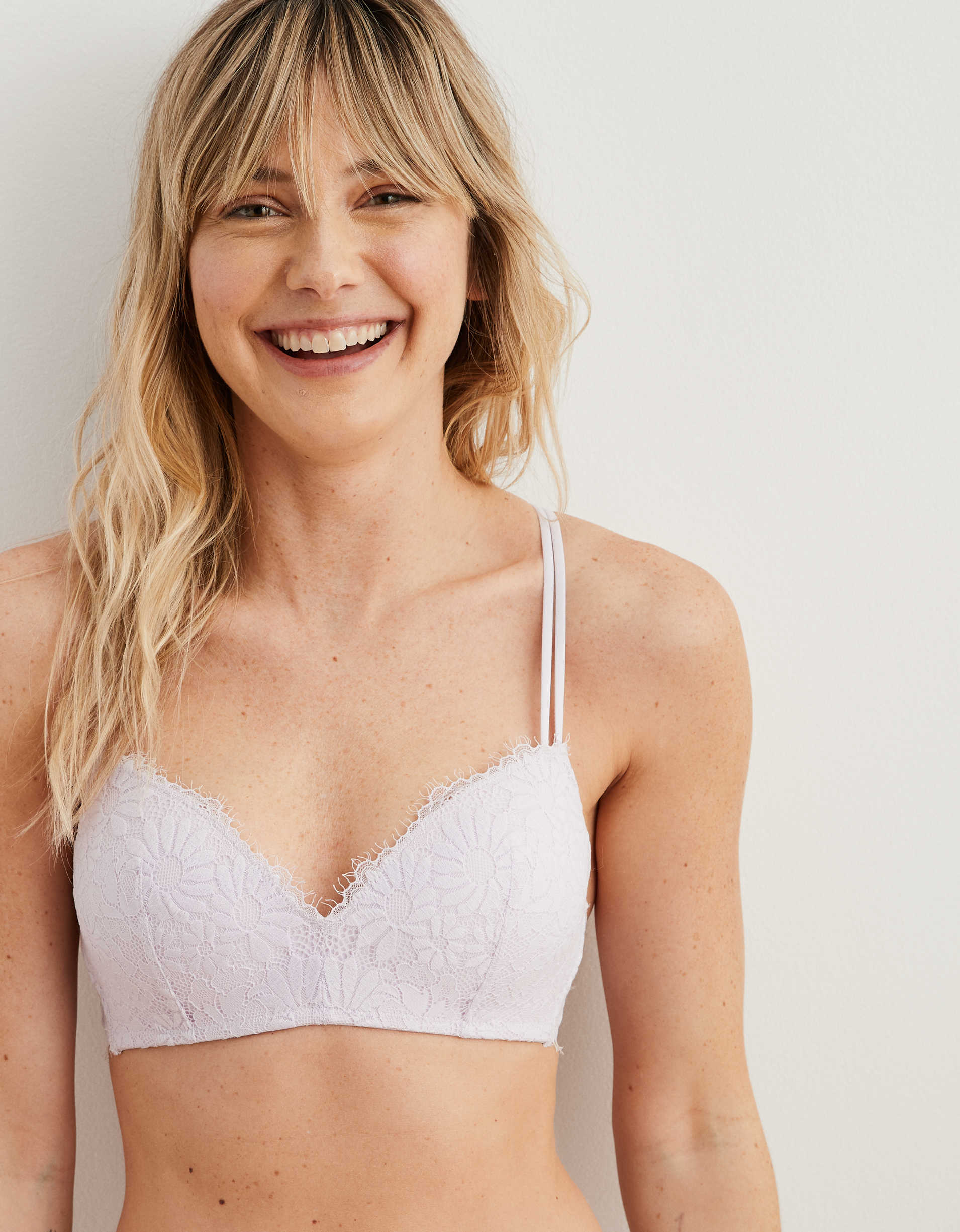 Aerie Real Happy Wireless Push Up Bra