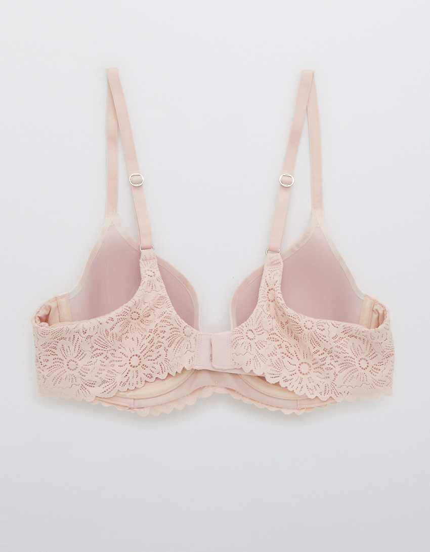 Aerie Real Sunnie Full Coverage Lightly Lined Blossom Lace Bra