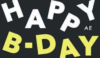AE Happy Birthday 2020 Gift Card