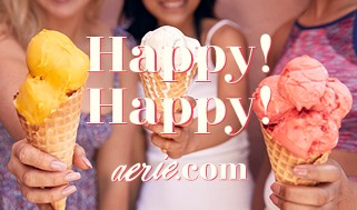 Aerie Happy Birthday Gift Card