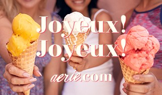Aerie Happy Birthday Gift Card (FRENCH)