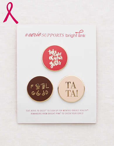 Aerie Limited-Edition Pin Pack -