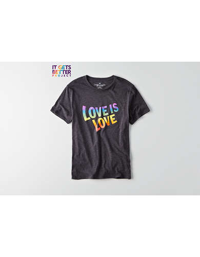 AEO Pride Love is Love Graphic Tee -