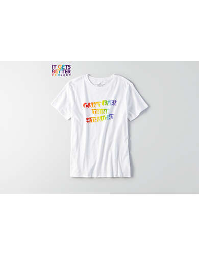 AEO Pride Can't Think Graphic Tee -