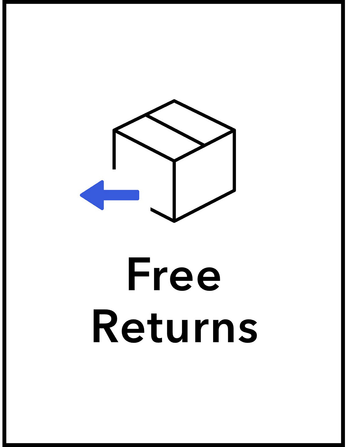 free return label your returns are on us white american eagle