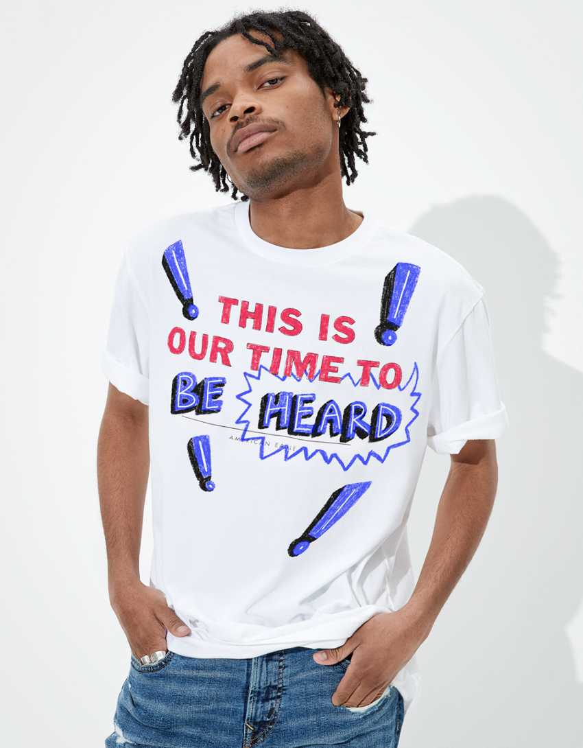 AE This Is Our Time Customizable T-Shirt