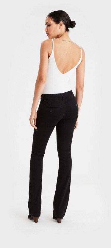 Womens Ladies Skinny Pants Trousers Urban Classic