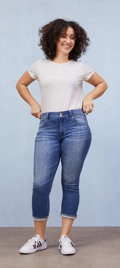 Womens Cropped Jeans American Eagle Outfitters
