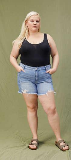 65445bb0d78 Shorts for Women  High-Waisted