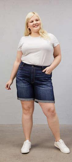 7cad15706a73 Slouchy Bermuda Shorts