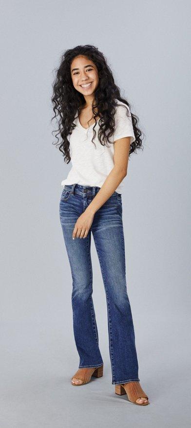 Jeans Kickboot Para Mujer American Eagle
