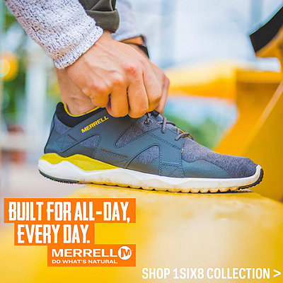 Merrell 1SIX8 Collection