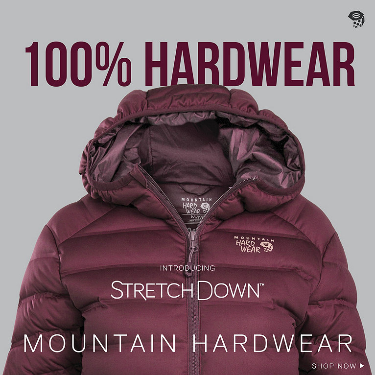 StretchDown Jacket Collection