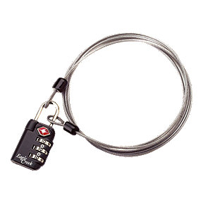 Eagle Creek TSA 3 Dial Lock and Cable