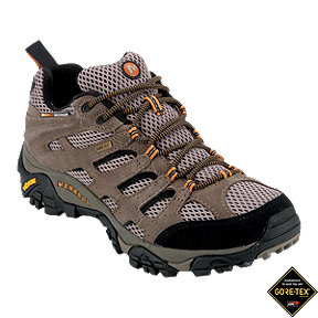 Merrell Men's Moab GTX Hiking Shoes - Brown/Black