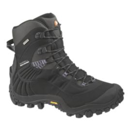 Merrell Men's Chameleon Thermo 8 Waterproof Winter Boots - Black