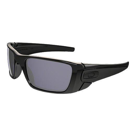 ada2d481e140 Oakley Fuel Cell Sunglasses - Polished Black with Warm Grey Lenses |  Atmosphere.ca