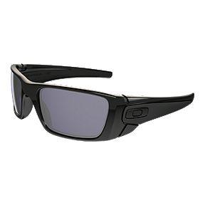 c85f75e91e Oakley Fuel Cell Sunglasses - Polished Black with Warm Grey Lenses