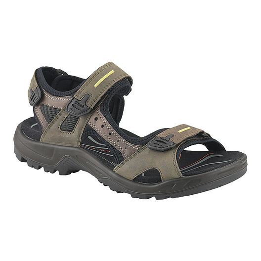 7be6bb4fc Ecco Men s Yucatan Sandals - Tar Rock