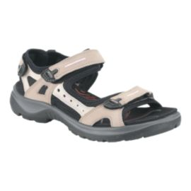 Ecco Women's Yucatan Sandals - Brown/Black