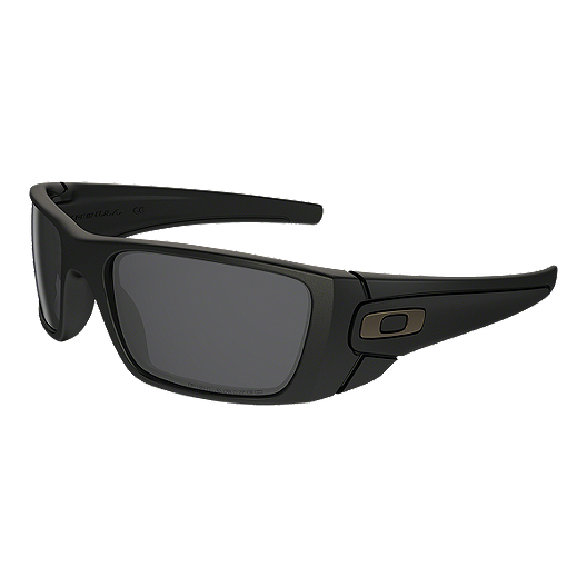2b1a5564e Oakley Fuel Cell Polarized Sunglasses - Matte Black with Grey Lenses |  Atmosphere.ca