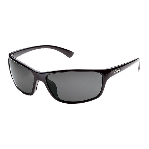 Suncloud Sentry Black Gray Polarized Sunglasses