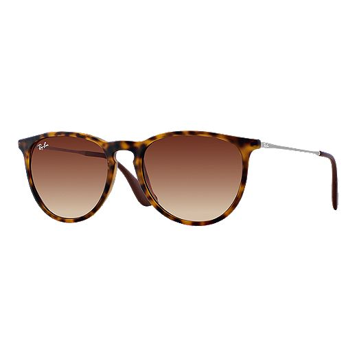 Ray-Ban Erika Sunglasses - Havana Brown Lenses