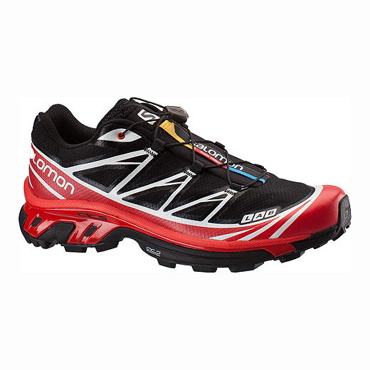 premium selection a61b5 4075e Salomon Men s XT S-Lab 6 Trail Running Shoes - Black Red White    Atmosphere.ca