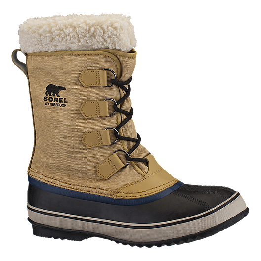 cheapest price many choices of cheap Sorel Men's 1964 Pac Nylon Waterproof Winter Boots - Curry/Black