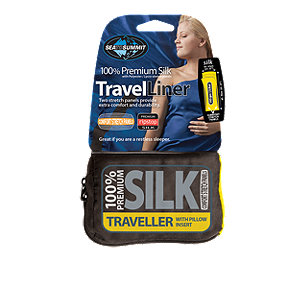 Sea to Summit Traveller Silk Liner with Pillow Slip