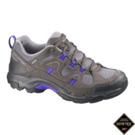 Salomon Women's Loma GTX Hiking Shoes - Black/Blue